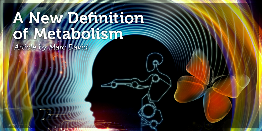 A New Definition of Metabolism