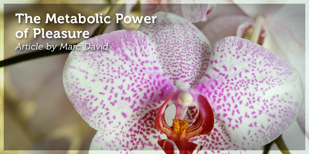 The Metabolic Power of Pleasure