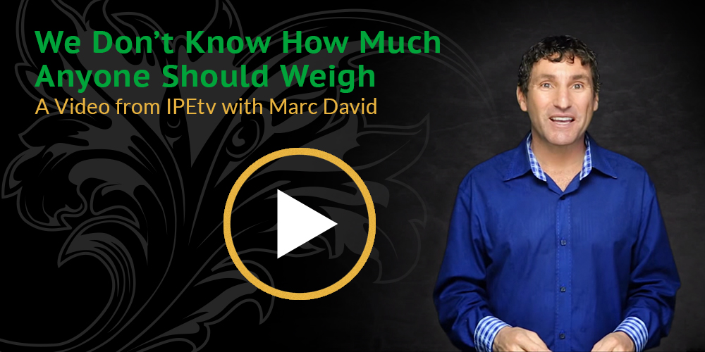 how much you should weigh