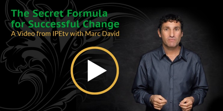 The Secret Formula for Successful Change