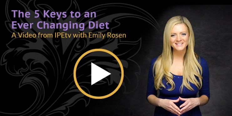 The 5 Keys to an Ever Changing Diet