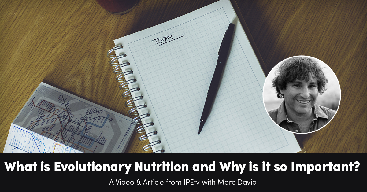 what-is-evolutionary-nutrition