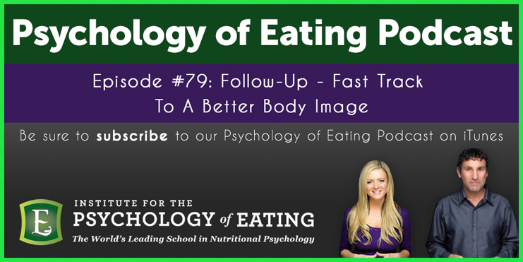 The Psychology of Eating Podcast Episode 79: Follow Up – Fast Track To A Better Body Image