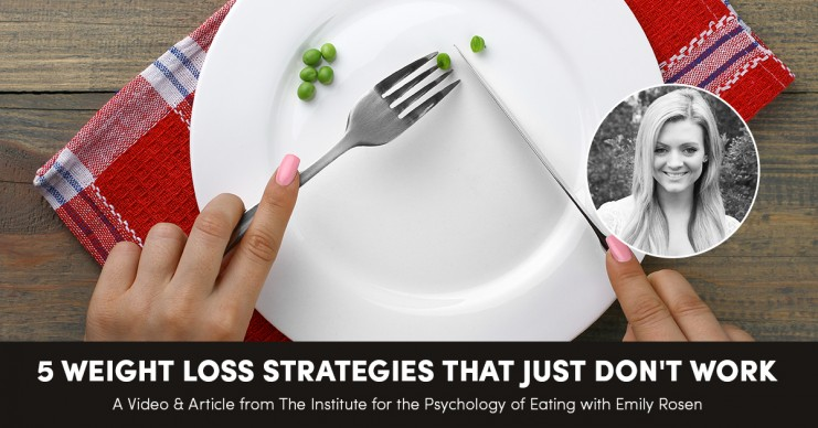 5 Weight Loss Strategies That Just Don't Work