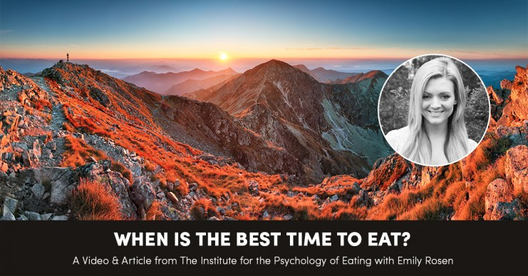 When is the Best Time to Eat?