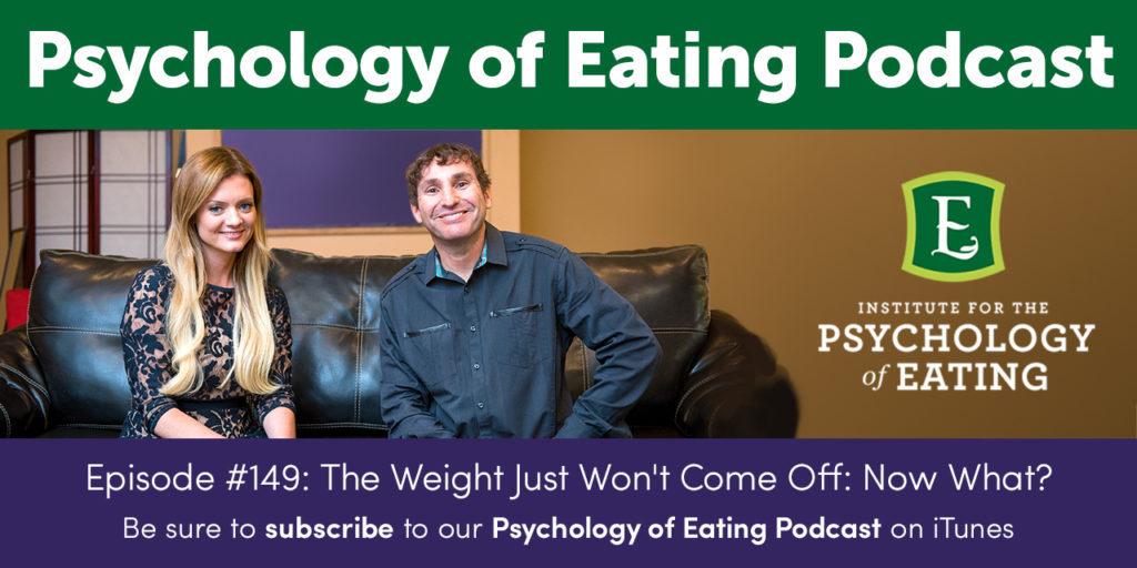 Psychology of Eating Podcast Episode #149: Follow-Up: Emotional Eating at 25 Years Old: A Surprising Cause