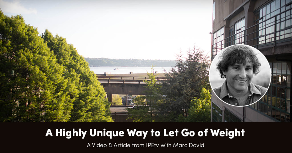 A Highly Unique Way to Let Go of Weight