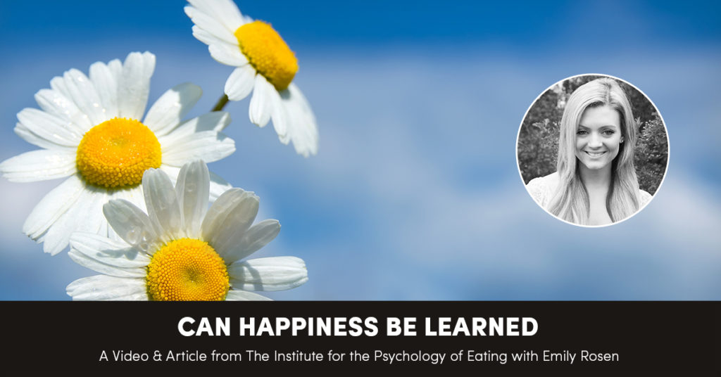 Can Happiness Be Learned?