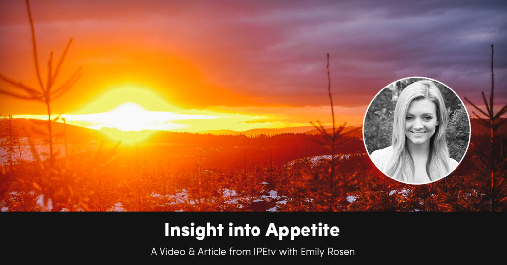 Insight into Appetite