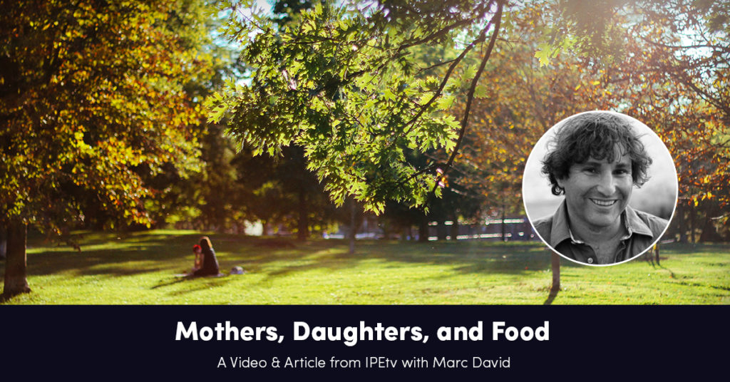 Mothers, Daughters and Food