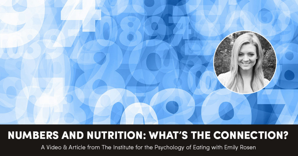 Numbers and Nutrition: What's the Connection?