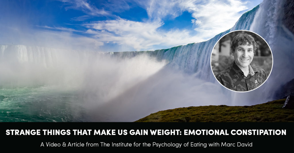 Strange Things That Make You Gain Weight: Emotional Constipation