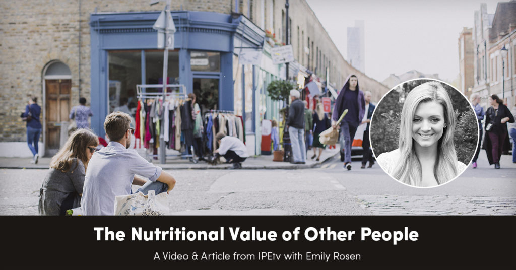 The Nutritional Value of Other People